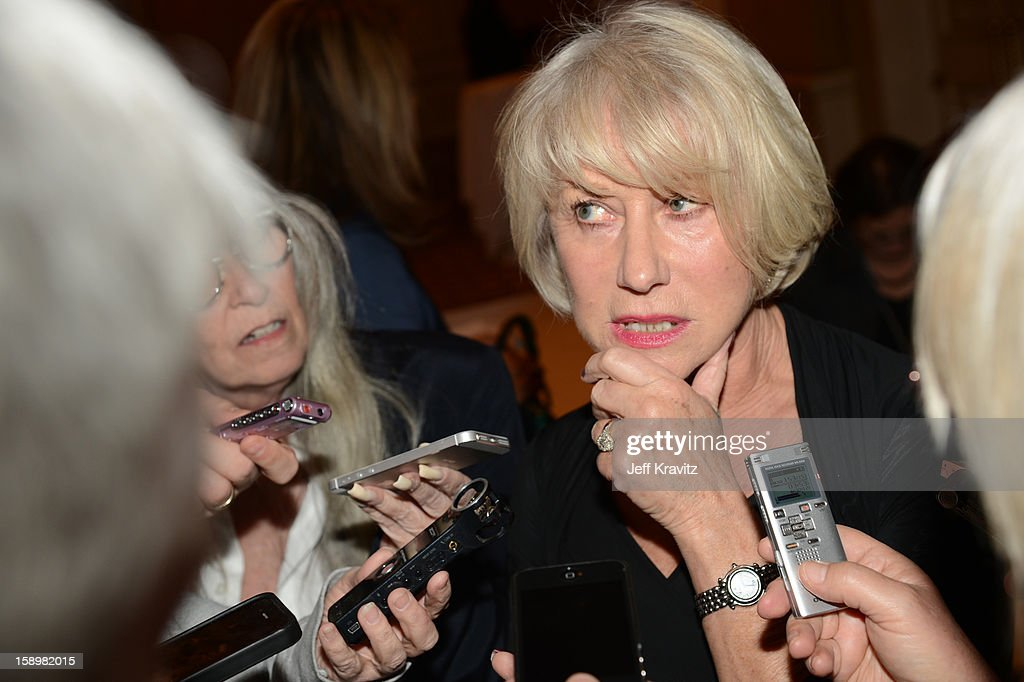 Actress <a gi-track='captionPersonalityLinkClicked' href=/galleries/search?phrase=Helen+Mirren&family=editorial&specificpeople=201576 ng-click='$event.stopPropagation()'>Helen Mirren</a> attends the HBO Winter 2013 TCA Panel at The Langham Huntington Hotel and Spa on January 4, 2013 in Pasadena, California.