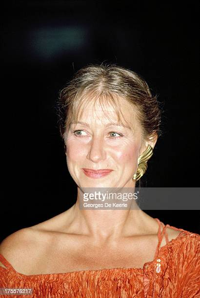 Actress Helen Mirren attends the premiere of 'When the Whales Came' on September 7 1989 in London England