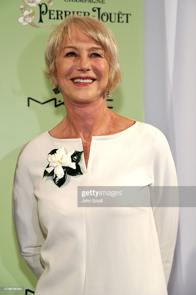 Actress <a gi-track='captionPersonalityLinkClicked' href=/galleries/search?phrase=Helen+Mirren&family=editorial&specificpeople=201576 ng-click='$event.stopPropagation()'>Helen Mirren</a> attends the Women In Film Pre-Oscar Cocktail Party presented by Perrier-Jouet, MAC Cosmetics & MaxMara at Fig & Olive Melrose Place on February 28, 2014 in West Hollywood, California.