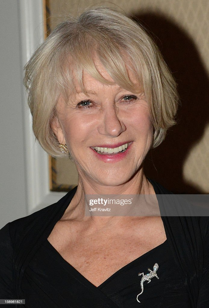Actress Helen Mirren during the HBO Winter 2013 TCA Panel at The Langham Huntington Hotel and Spa on January 4, 2013 in Pasadena, California.