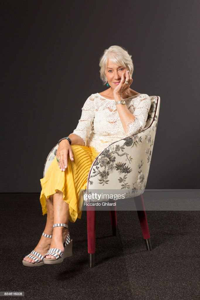 Actress Helen Mirren is photographed for Self Assignment on September 4, 2017 in Venice, Italy. (Photo by Riccardo Ghilardi/Contour by Getty Images).