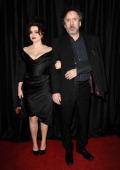 Actress Helena Bonham Carter and director Tim Burton attend the 38th annual Los Angeles Film Critics Association Awards at InterContinental Hotel on...