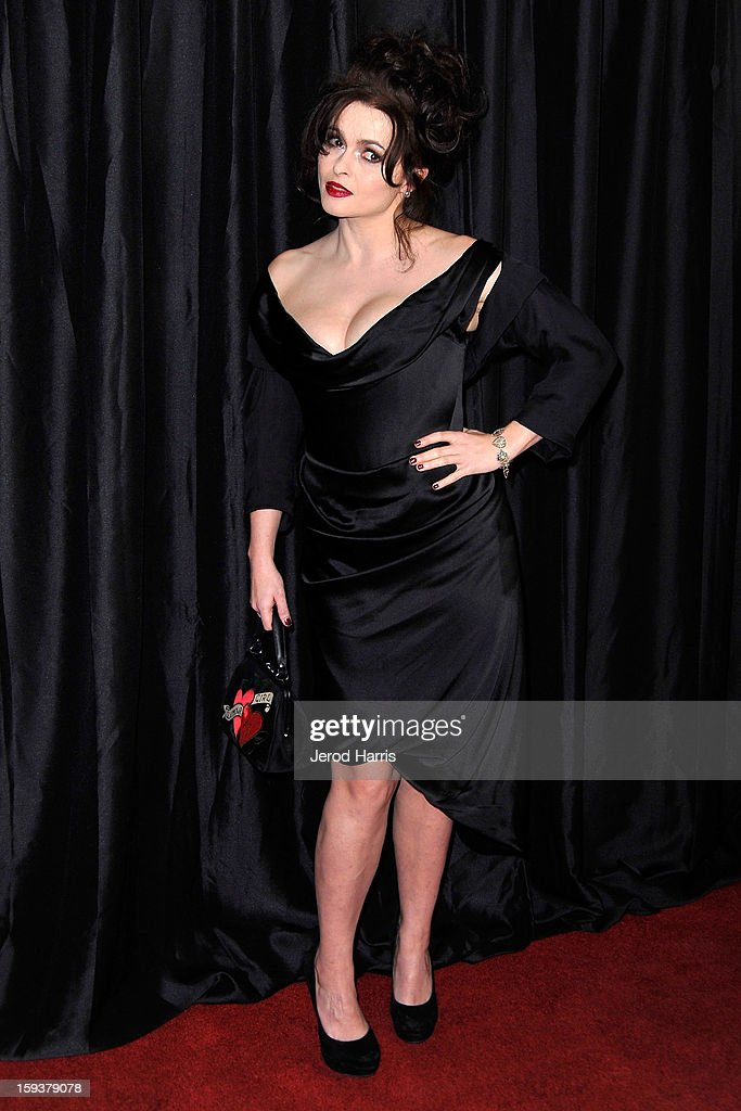 Actress Helena Bonham Carter arrives at the 38th Annual Los Angeles Film Critics Association Awards at InterContinental Hotel on January 12, 2013 in Century City, California.