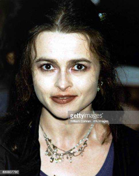 Actress Helena Bonham Carter arriving for the UK premiere of 'Bridget Jones Diary' at the Empire in London's Leicester Square