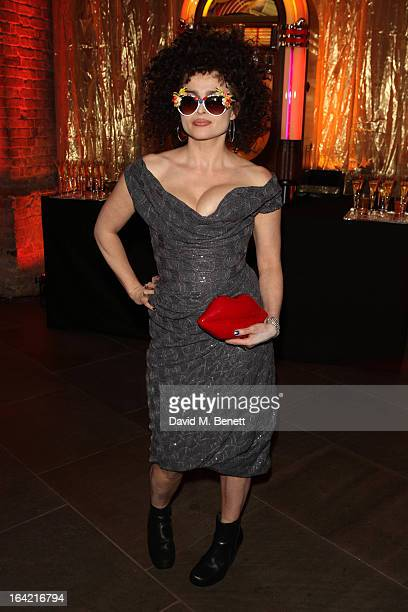 Actress Helena Bonham Carter attends 'A Night Of Funk Soul 2013' for Save The Children UK at The Roundhouse on March 20 2013 in London England