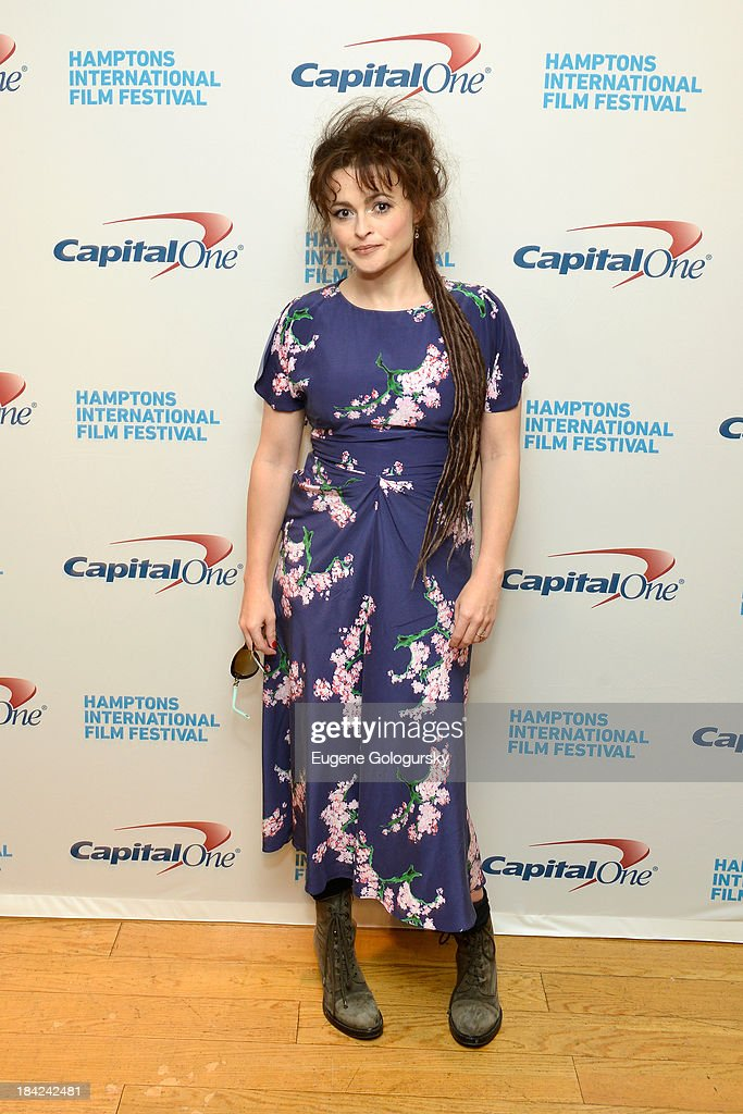 Actress Helena Bonham Carter attends the 21st Annual Hamptons International Film Festival on October 12 2013 in East Hampton New York