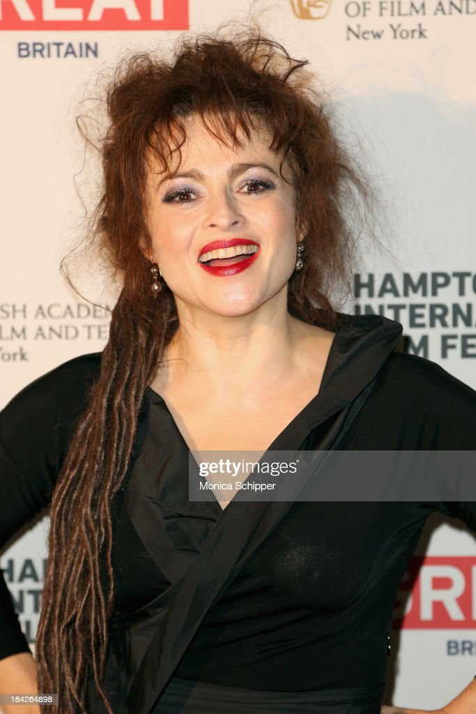 Actress <a gi-track='captionPersonalityLinkClicked' href=/galleries/search?phrase=Helena+Bonham+Carter&family=editorial&specificpeople=210567 ng-click='$event.stopPropagation()'>Helena Bonham Carter</a> attends the 21st Annual Hamptons International Film Festival on October 12, 2013 in East Hampton, New York.