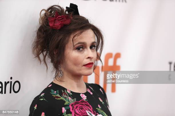 Actress Helena Bonham Carter attends the '55 Steps' premiere during the 2017 Toronto International Film Festival at Roy Thomson Hall on September 15...