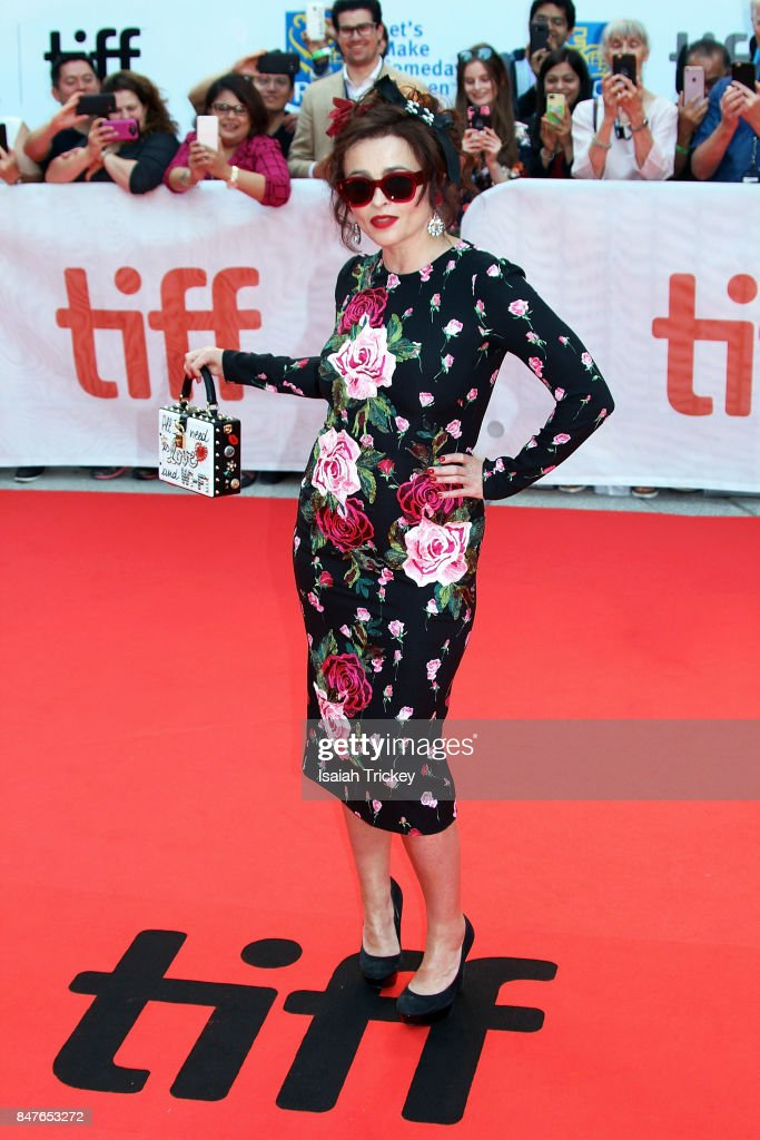 Actress Helena Bonham Carter attends the '55 Steps' World Premiere during the 2017 Toronto International Film Festival at Roy Thomson Hall on September 15, 2017 in Toronto, Canada.