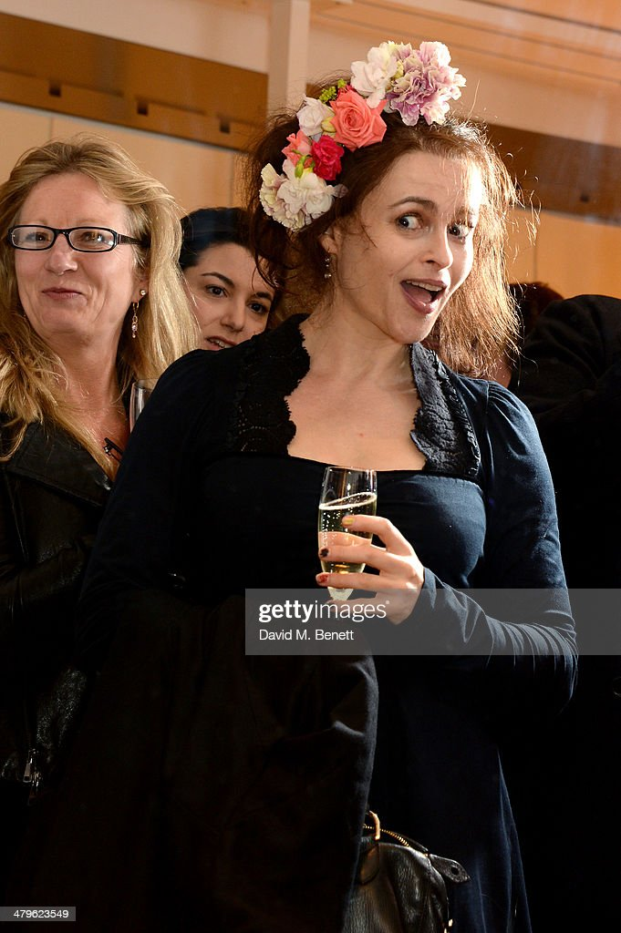 Actress <a gi-track='captionPersonalityLinkClicked' href=/galleries/search?phrase=Helena+Bonham+Carter&family=editorial&specificpeople=210567 ng-click='$event.stopPropagation()'>Helena Bonham Carter</a> attends the HIGH London flagship store launch on March 19, 2014 in London, England.