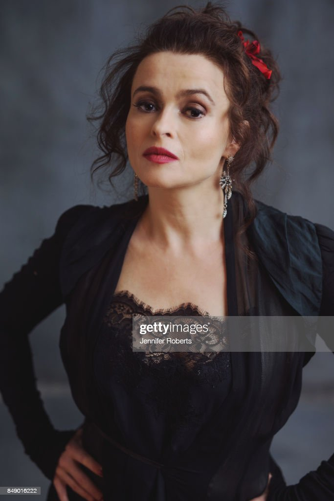 Actress Helena Bonham Carter of '55 Steps is photographed at the 2017 Toronto Film Festival on September 16, 2017 in Toronto, Ontario.