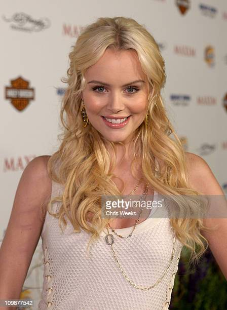 Actress Helena Mattsson arrives at the 11th annual Maxim Hot 100 Party with HarleyDavidson ABSOLUT VODKA Ed Hardy Fragrances and ROGAINE held at...