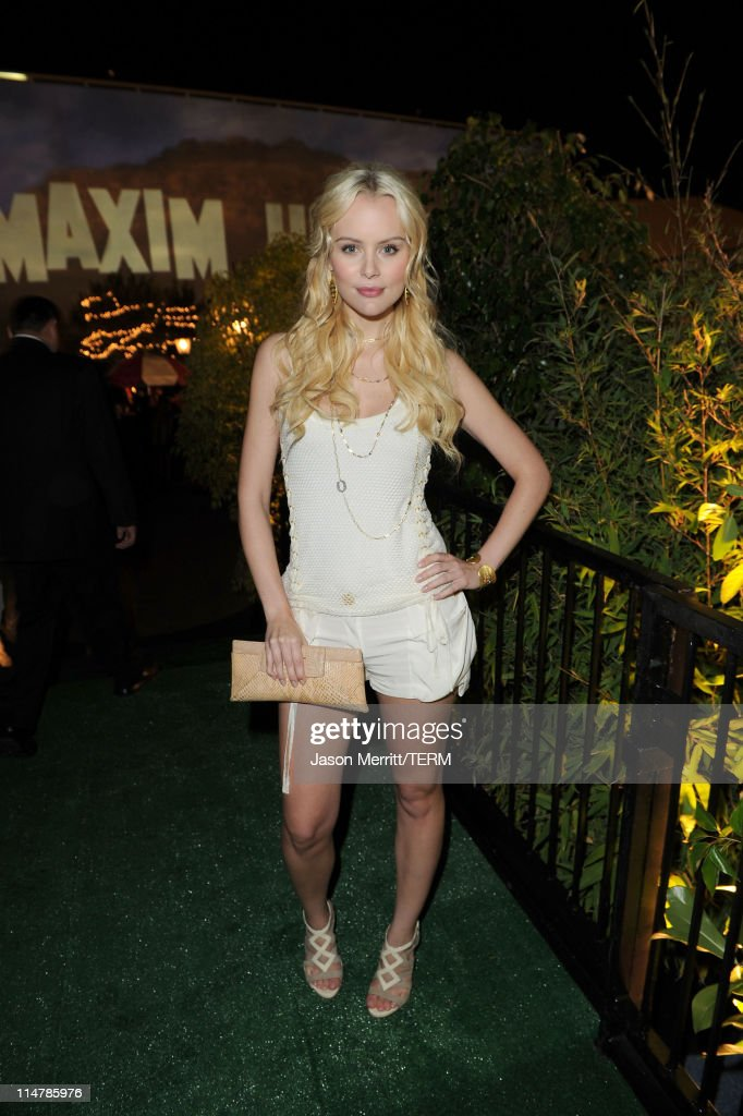 Actress Helena Mattsson attends the 11th annual Maxim Hot 100 Party with Harley-Davidson, ABSOLUT VODKA, Ed Hardy Fragrances, and ROGAINE held at Paramount Studios on May 19, 2010 in Los Angeles, California.