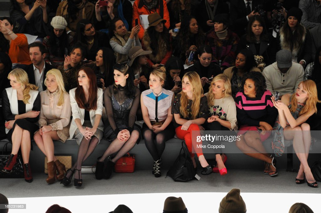 Mara Hoffman - Front Row - Fall 2013 Mercedes-Benz Fashion Week