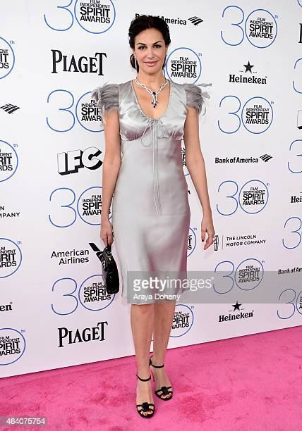 Actress Helena Noguerra attends the 2015 Film Independent Spirit Awards at Santa Monica Beach on February 21 2015 in Santa Monica California