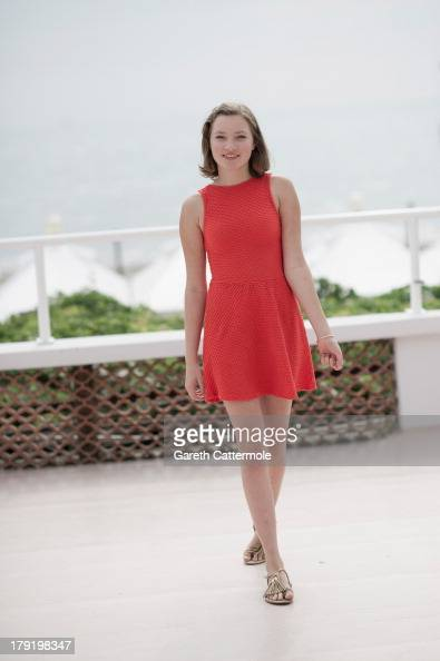 Actress Helena Phil during a portrait session at the 70th Venice International Film Festival on September 1 2013 in Venice Italy