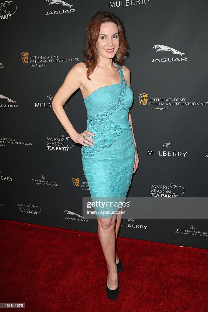 Actress Helene Cardona attends the BAFTA LA 2014 Awards Season Tea Party at the Four Seasons Hotel Los Angeles at Beverly Hills on January 11, 2014 in Beverly Hills, California.