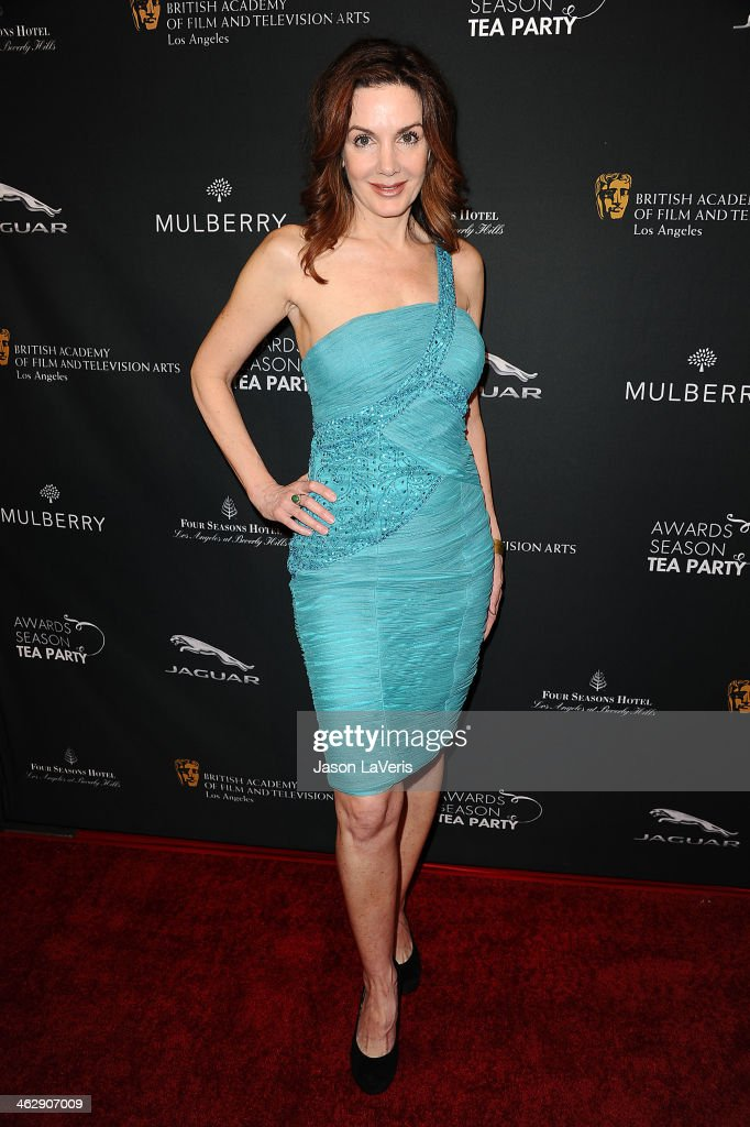 Actress Helene Cardona attends the BAFTA LA 2014 awards season tea party at Four Seasons Hotel Los Angeles at Beverly Hills on January 11, 2014 in Beverly Hills, California.
