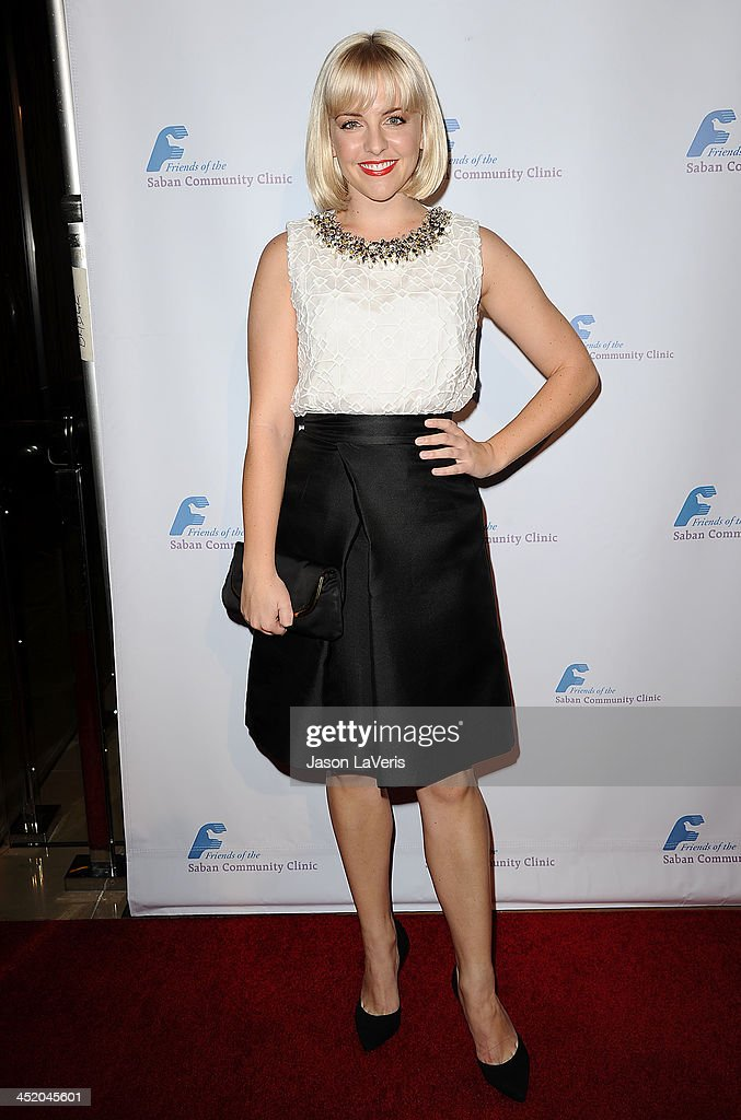 Actress Helene Yorke attends Saban Community Clinic's 37th annual benefit gala at The Beverly Hilton Hotel on November 25, 2013 in Beverly Hills, California.
