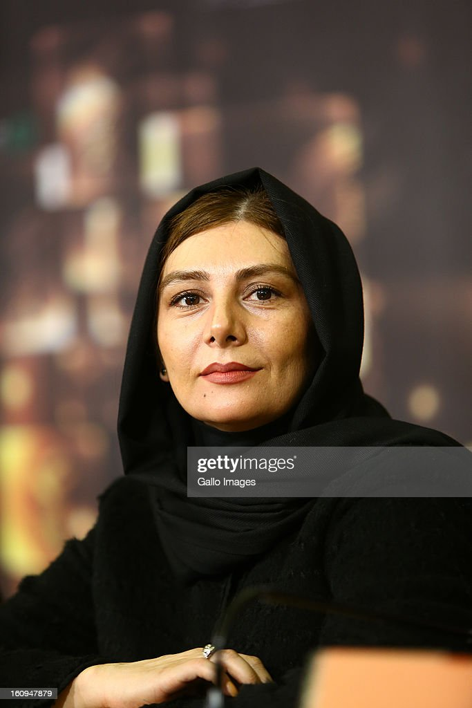 Actress Hengameh Ghaziani at Day 8 of the 31th International Fajr Film Festival on February 7, 2013 in Tehran, Iran. Organized by the Ministry of Culture and Islamic Guidance, the Film Festival is the most important film event in the country.