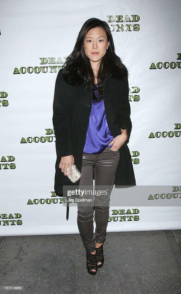 Actress Hettienne Park attends 'Dead Accounts' Broadway Opening Night at Music Box Theatre on November 29, 2012 in New York City.