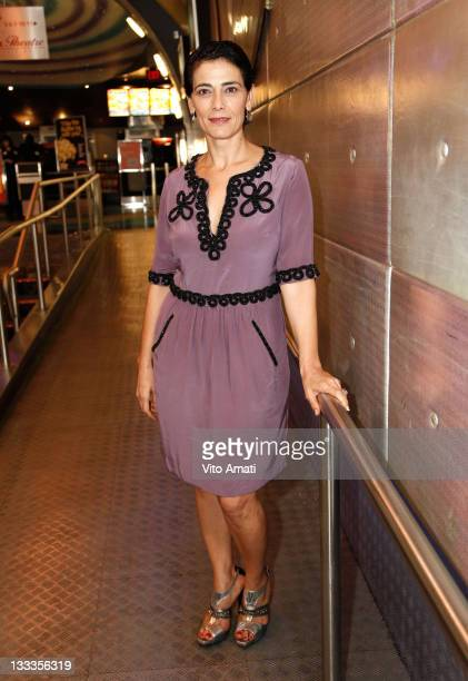Actress Hiam Abbass attends 'Every Day Is A Holiday' premiere at Scotiabank 4 during the 2009 Toronto International Film Festival on September 15...