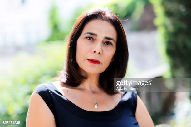 Actress Hiam Abbass is photographed for Self Assignment on August 26 2017 in Angouleme France