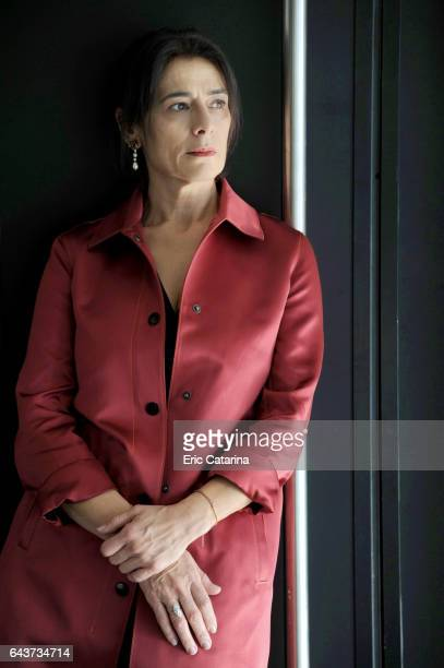 Actress Hiam Abbass is photographed for Self Assignment on February 14 2017 in Berlin Germany