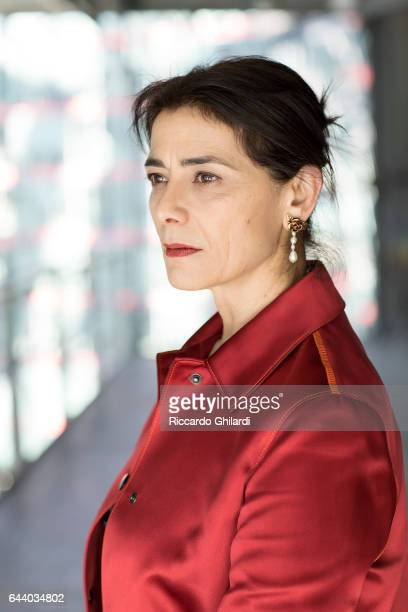 Actress Hiam Abbass is photographed for Self Assignment on February 11 2017 in Berlin Germany