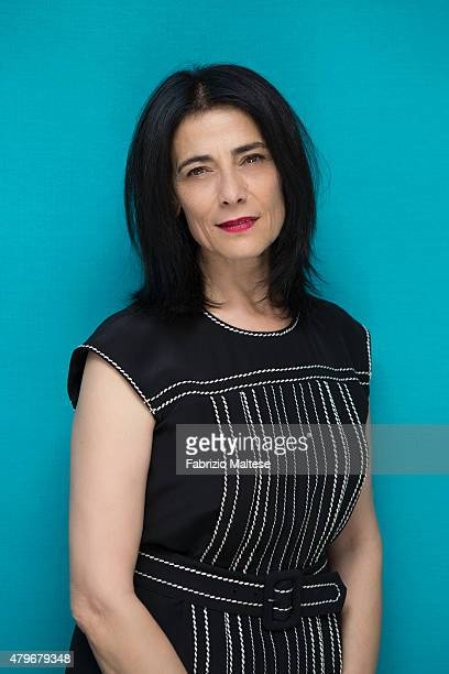 Actress Hiam Abbass is photographed for The Hollywood Reporter on May 15 2015 in Cannes France **NO SALES IN USA TILL AUGUST 28 2015**