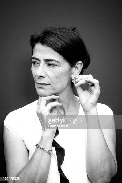 Actress Hiam Abbass poses during the 'May In The Summer' portrait session at the Venice Days Villa degli Autori as part of the 70th Venice...