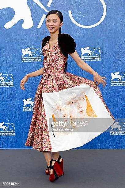 Actress Hikari Mitsushima attends a photocall for 'Traces Of Sin' during the 73rd Venice Film Festival at on September 6 2016 in Venice Italy