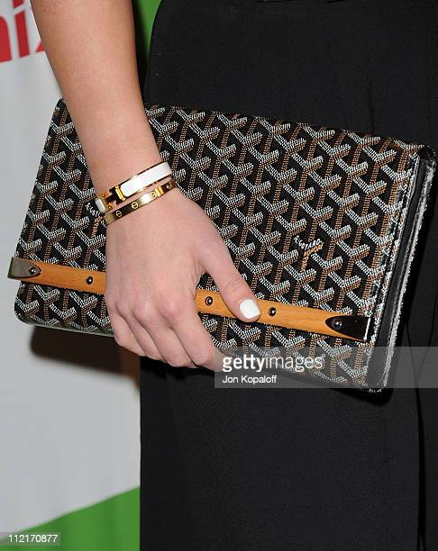 Actress Hilary Duff arrives at the Kimberly Snyder Book Launch Party For 'The Beauty Detox Solution' at The London Hotel on April 13 2011 in West...