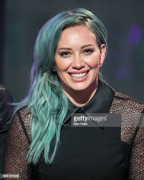 Actress Hilary Duff attends AOL BUILD Speaker Series The Cast Of 'Younger' at AOL Studios In New York on March 30 2015 in New York City