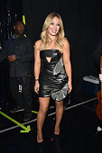 Actress Hilary Duff attends the 2014 iHeartRadio Music Festival at the MGM Grand Garden Arena on September 20 2014 in Las Vegas Nevada