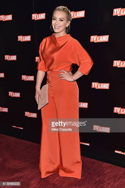 Actress Hilary Duff attends the 2016 Viacom Kids and Family Group Upfront on March 3 2016 in New York City