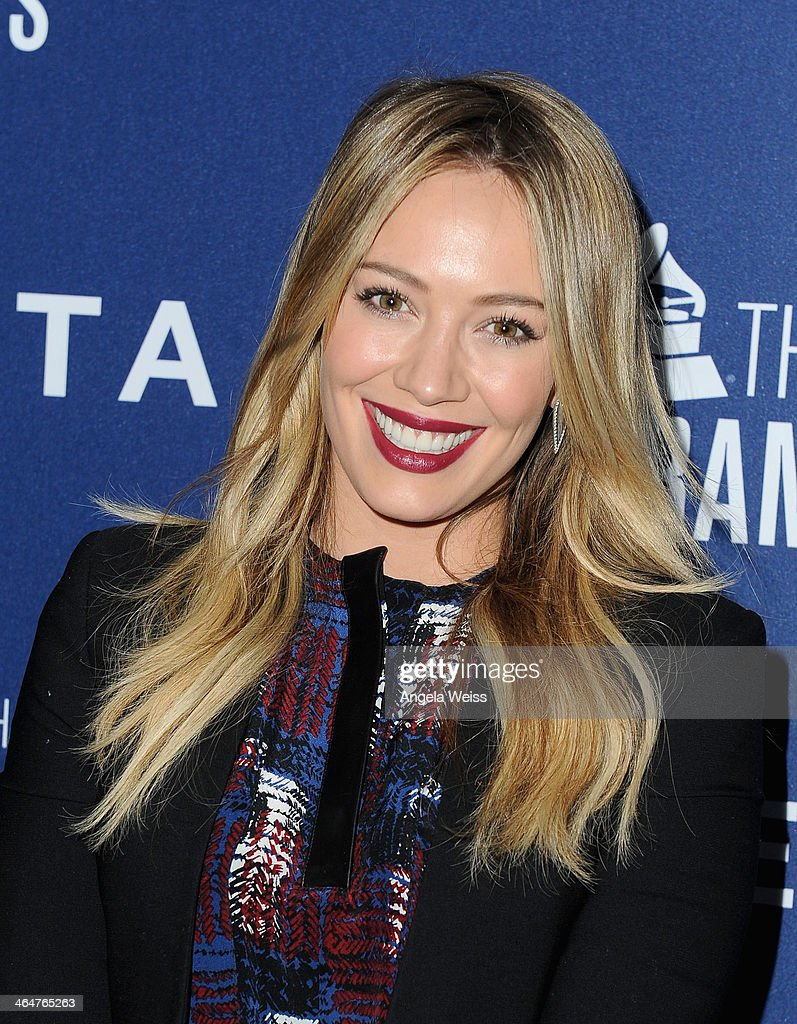 Actress Hilary Duff joins Delta Air Lines in toasting 2014 GRAMMY Weekend with private reception and performance from Lorde, four-time 2014 GRAMMY award nominee in West Hollywood, CA on January 23rd 2014