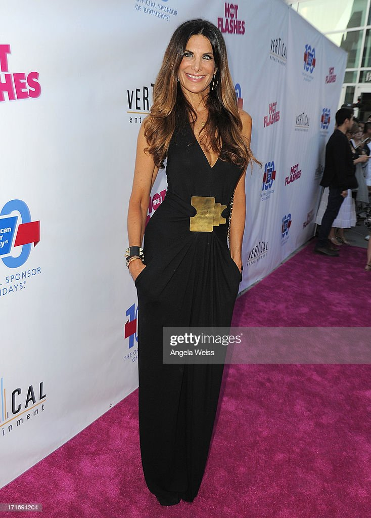 Actress <a gi-track='captionPersonalityLinkClicked' href=/galleries/search?phrase=Hilary+Shepard&family=editorial&specificpeople=624069 ng-click='$event.stopPropagation()'>Hilary Shepard</a> arrives at the premiere of 'The Hot Flashes' at ArcLight Cinemas on June 27, 2013 in Hollywood, California.