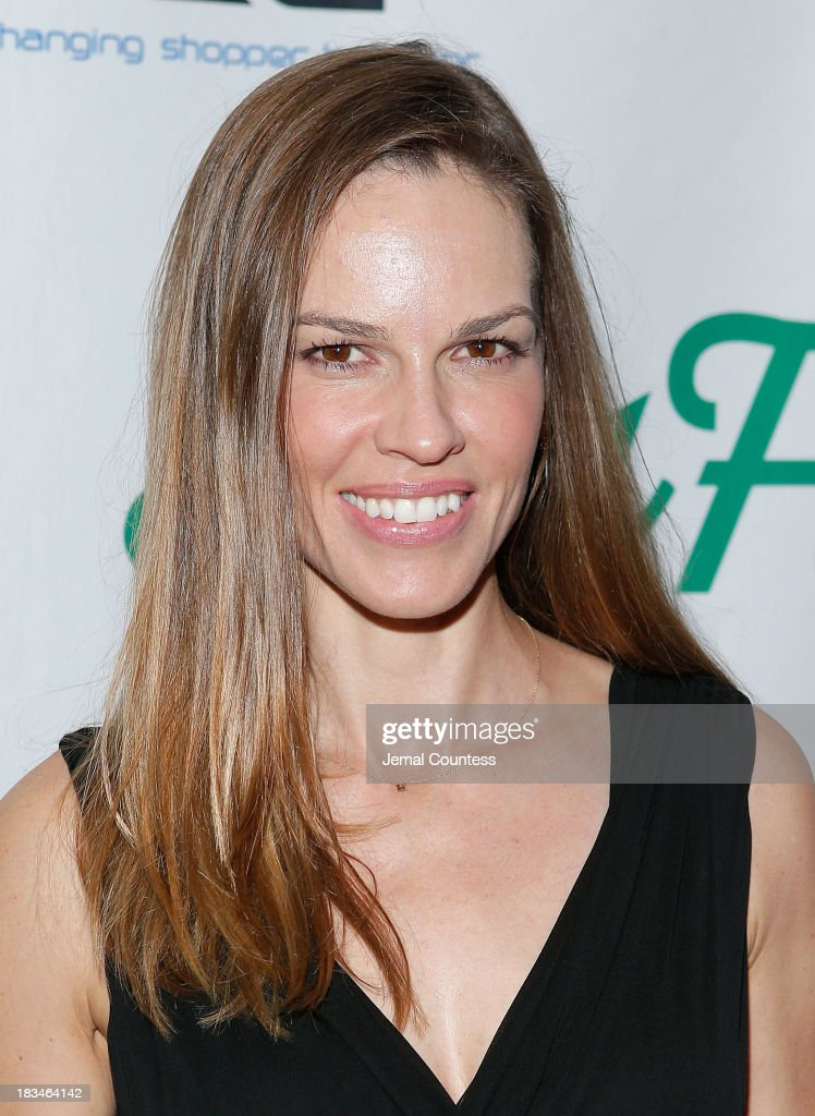 Actress Hillary Swank attends the Broadway opening night of 'Big Fish' at Neil Simon Theatre on October 6, 2013 in New York City.