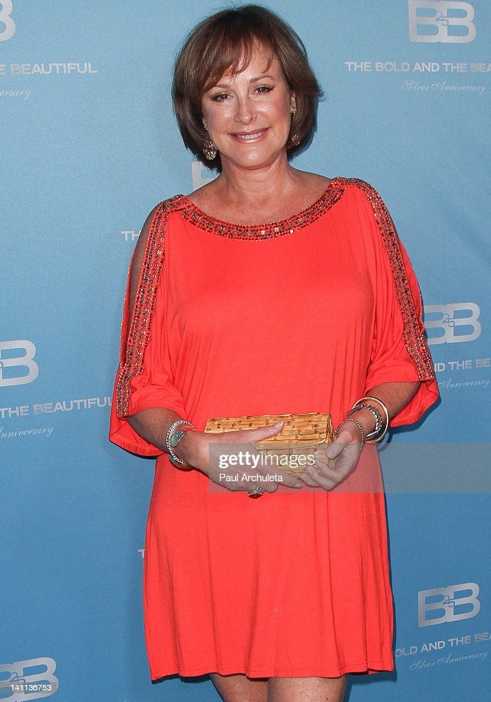 Actress Hillary B. Smith attends 'The Bold And The Beautiful' 25th silver anniversary party on March 10, 2012 in Los Angeles, California.