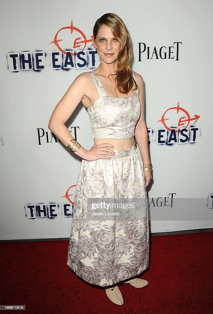 Actress Hillary Baack attends the premiere of 'The East' at ArcLight Hollywood on May 28, 2013 in Hollywood, California.