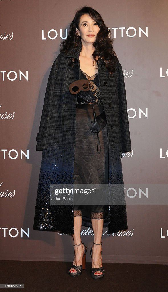 Actress Hisako Manda attends Louis Vuitton 'Timeless Muses' exhibition at the Tokyo Station Hotel on August 29, 2013 in Tokyo, Japan.