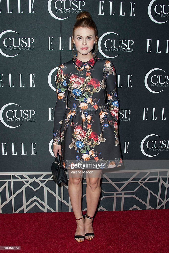 Actress <a gi-track='captionPersonalityLinkClicked' href=/galleries/search?phrase=Holland+Roden&family=editorial&specificpeople=5578822 ng-click='$event.stopPropagation()'>Holland Roden</a> arrives at ELLE's 5th Annual Women In Music Concert Celebration Presented by CUSP By Neiman Marcus at Avalon on April 22, 2014 in Hollywood, California.