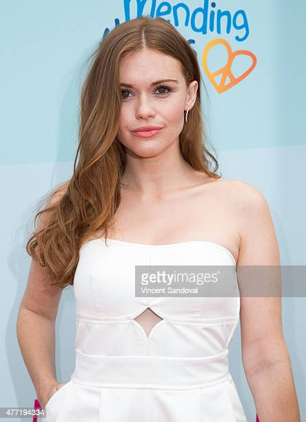 Actress Holland Roden attends Children Mending Heart's 7th Annual Empathy Rocks fundraiser on June 14 2015 in Malibu California