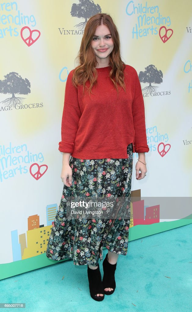 Actress Holland Roden attends Children Mending Hearts' 9th Annual Empathy Rocks at a private residence on June 11, 2017 in Bel Air, California.
