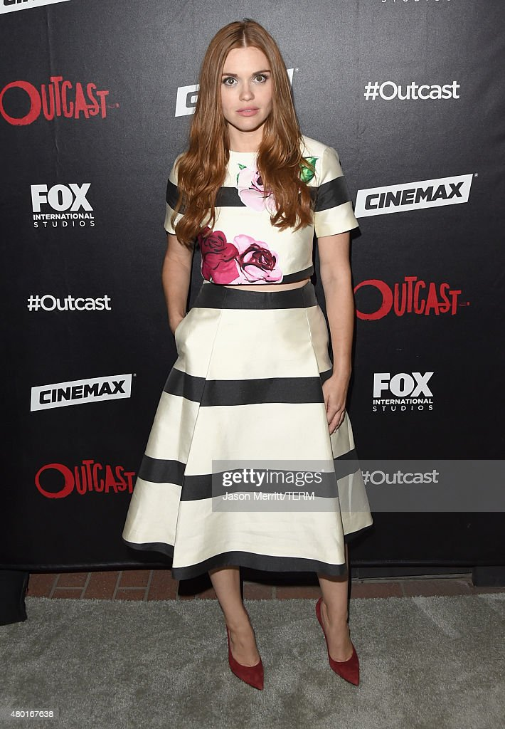 Actress Holland Roden attends FOX International Studios' ComicCon Party Celebrating Robert Kirkman's New Drama 'Outcast' during ComicCon...