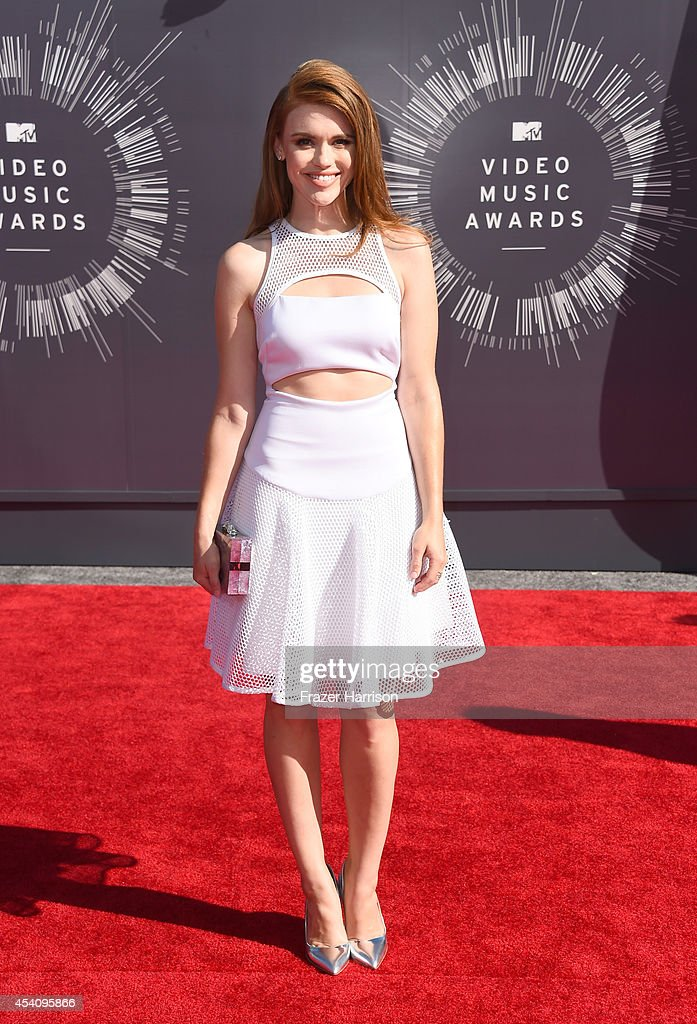 Actress Holland Roden attends the 2014 MTV Video Music Awards at The Forum on August 24 2014 in Inglewood California