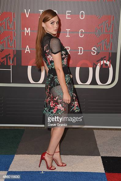 Actress Holland Roden attends the 2015 MTV Video Music Awards at Microsoft Theater on August 30 2015 in Los Angeles California