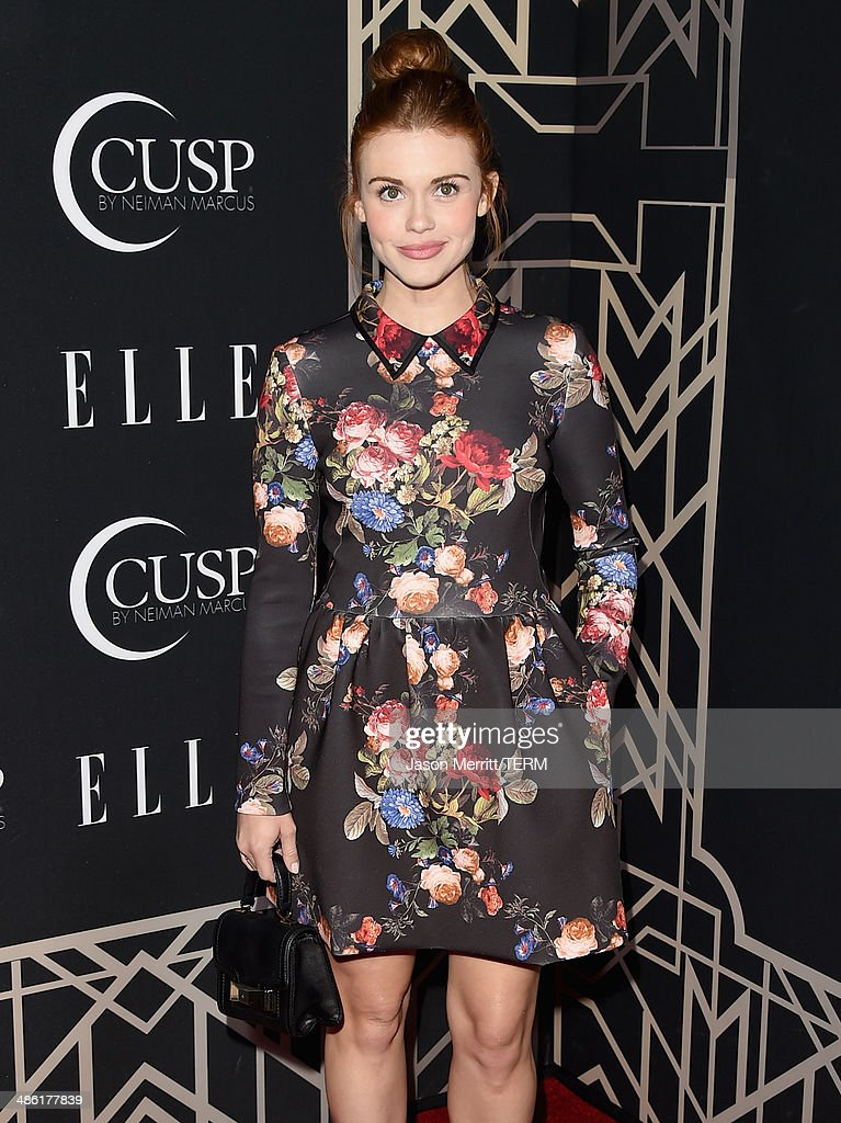 Actress Holland Roden attends the 5th Annual ELLE Women in Music Celebration presented by CUSP by Neiman Marcus. Hosted by ELLE Editor-in-Chief Robbie Myers with performances by Sarah McLachlan, Angel Haze and Betty Who, with special DJ set by Rumer Willis at Avalon on April 22, 2014 in Hollywood, California.
