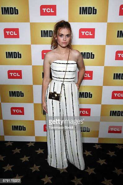 Actress Holland Roden attends the IMDb Yacht Party Presented By TCL at on July 22 2016 in San Diego California